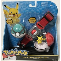 Pokemon Clip n Carry Pokeball Belt D1
