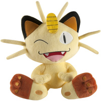 Pokemon Large Plush Meowth 10""