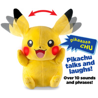 Pokemon My Friend Light and Sounds Plush Pikachu 10""