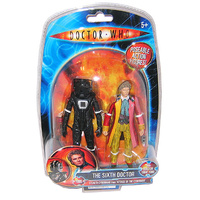 Doctor who Figure The Sixth Doctor and Cyberman