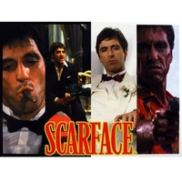 Scarface puzzle Faces - 1000 Piece Jigsaw Puzzle