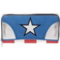 Marvel Captain America Zip Wallet