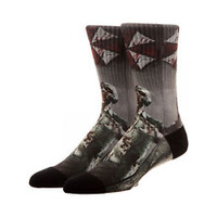 Resident Evil Sublimated Crew Socks