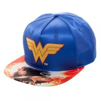 DC Comics Wonder Woman Satin Snapback Cap