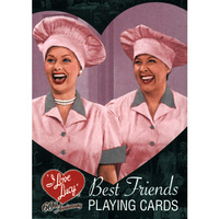 I Love Lucy 60th Anniversary Best Friends Playing Cards