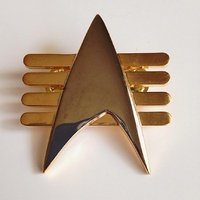 Star Trek: Next Generation Future Imperfect Metal Communicator Pin