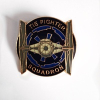 Classic Star Wars Imperial Tie Fighter Squadron Metal Enamel Pin