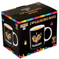 Tetris I Love Gaming Mug