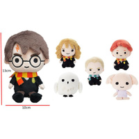 Harry Potter Beanie Plush - Harry,  Hedwig ,  Hermione,  Malfoy,  Ron,  Dobby