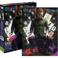 DC Comics Heath Ledger Joker 1000pc Jigsaw Puzzle