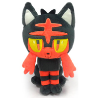 Pokemon Plush Litten 8""