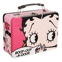 Lunch Box Betty Boop Boop-Oop-A-Doop Large Tin Metal Case