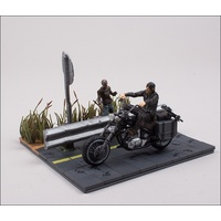 The Walking Dead Construction Daryl Dixon with Chopper
