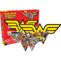 Wonder Woman Logo Double Sided Puzzle 600 pieces