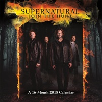 Supernatural 2018 Wall Calendar