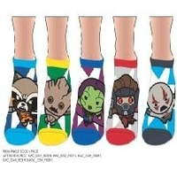 Marvel Kawai Guardians of the Galaxy 5 Pack Ankle Sock Set