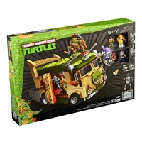Teenage Mutant Ninja Turtles Classic Series Party Wagon