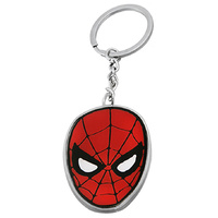 Spiderman Keyring Metal