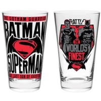 Batman v Superman Set of 2 Glasses