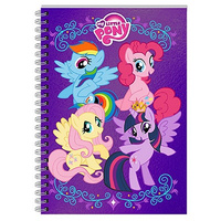 My Little Pony Foil Notebook