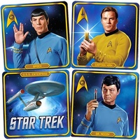 Star Trek Retro Coasters Set of 4