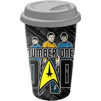 Star Trek Travel Mug Number One Dad