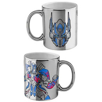 Transformers Coffee Mug Optimus Prime Metallic