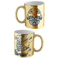Transformers Coffee Mug Bumblebee Metallic