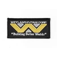 Alien Movie Weyland-Yutani Corporation Building Better Worlds Logo