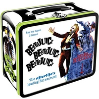 Beetlejuice Large Tin Tote Lunch Box