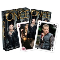 Once Upon a Time Scenes Playing Cards