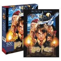Harry Potter and the Sorcerer's Stone Movie Poster 500 Piece Puzzle