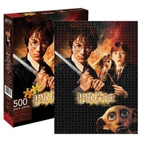 Harry Potter and the Chamber of Secrets Movie Poster 500 Piece Puzzle