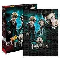 Harry Potter and the Order of the Phoenix Movie Poster 500 Piece Puzzle