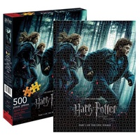 Harry Potter and the Deathly Hallows Part 1 Movie Poster 500 Piece Puzzle