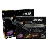 Star Trek Enterprise 1,000 Piece Puzzle