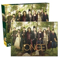 Once Upon A Time Cast 1,000-Piece Puzzle