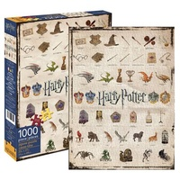 Harry Potter Icons 1,000 Piece Puzzle