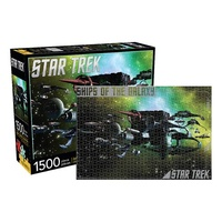 Star Trek Enemy Ships of the Galaxy 1,500 Piece Puzzle