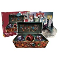 Harry Potter Quidditch Set 600 Piece 2-Sided Puzzle