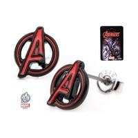 Avengers Logo Stud Earrings