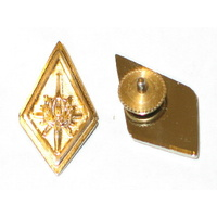 Battlestar Galactica Colonel Metal Collar Pips