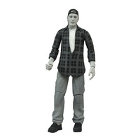 Clerks Randal Graves Black and White Action Figure
