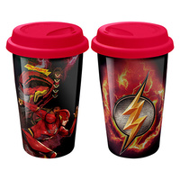 Justice League Movie Flash Travel Mug