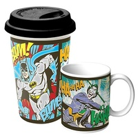 DC Coffee Mug & Travel Mug Gift Pack