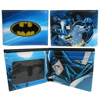 Batman Sublimated Bi-Fold Wallet