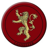 Game of Thrones House of Lannister Embroidered Patch