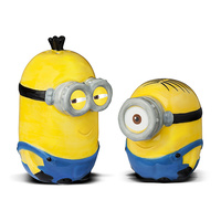 DESPICABLE ME MINION SALT AND PEPPER SHAKERS