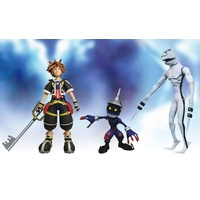 Kingdom Hearts - Sora, Dusk & Soldier 3-Pack Series 01 Action Figure