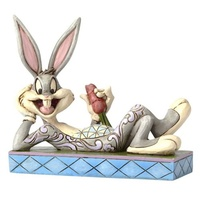 Looney Tunes Jim Shore Bugs Bunny Cool as a Carrot Statue